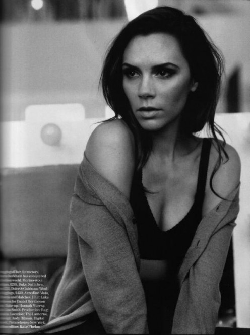 Victoria Beckham looking romantic and stylish in 2011