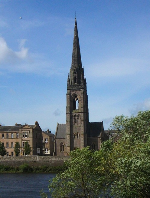 St Matthew's church, Tay Street, Perth