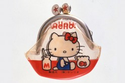 Hello Kitty made her first appearance on an adorable coin purse