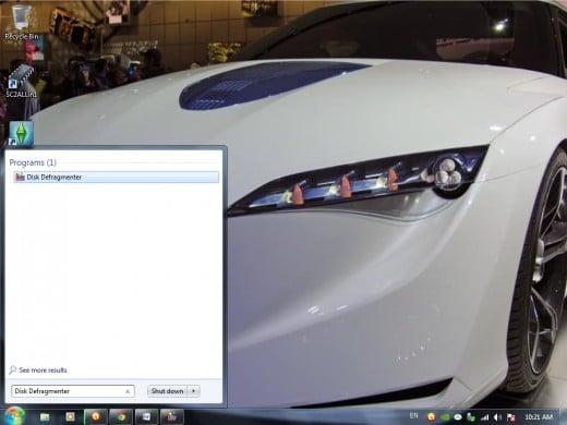 search box in windows 7 os