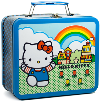 """Sunshine, lollipops and..."" Vintage Hello Kitty iunchbox"