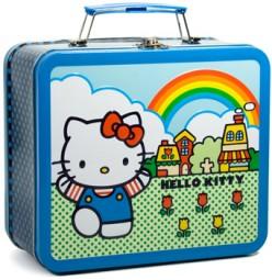 """Sunshine, lollipops and..."" Vintage Hello Kitty iunchbox"