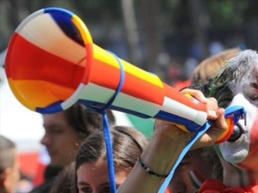 Striped Vuvuzela