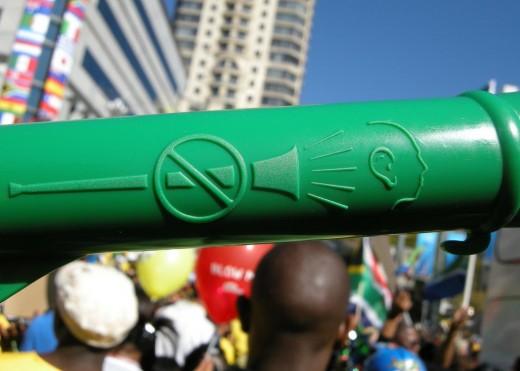 Vuvuzelas Warning