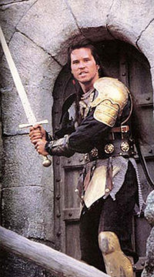 Val Kilmer as Madmartigan.