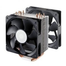 The Hyper 212 CPU Cooler is an inexpensive and effective Cooler that comes with the option to add an additional fan.