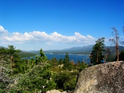 A Mysterious Lake By a Miner's Grave: Photo Journey, Big Bear, California