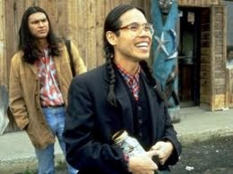 "The movie Smoke Signals was based on the characters and stories in ""The Lone Ranger and Tonto Fistfight in Heaven"""