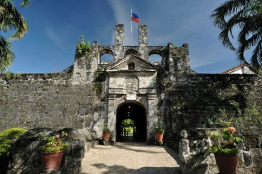 Fort San Pedro entrance