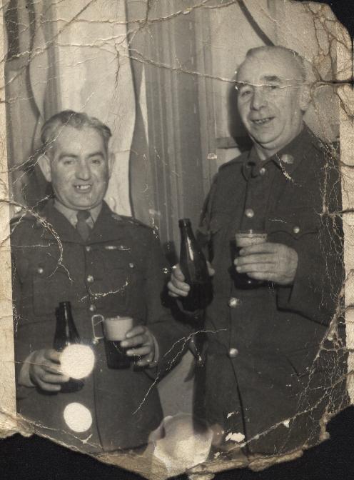 Joe Starr with friend