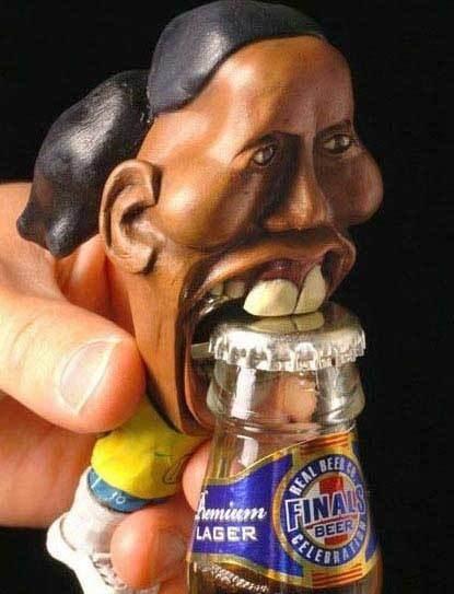 Funny bottle opener or beer opener