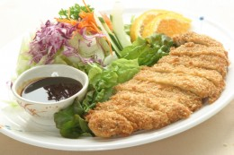 Tonkatsu, ready to eat.