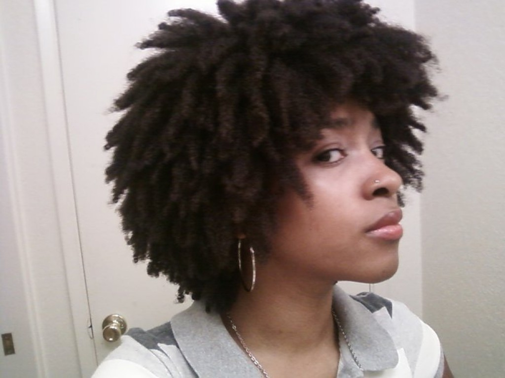 Spritzing Natural Hair With Water Daily