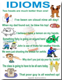 5 Common and Simple English Idioms