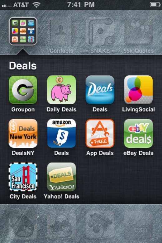 Apps for iPhone with Daily Deals