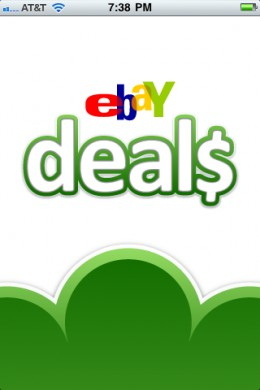 eBay Deals iPhone App