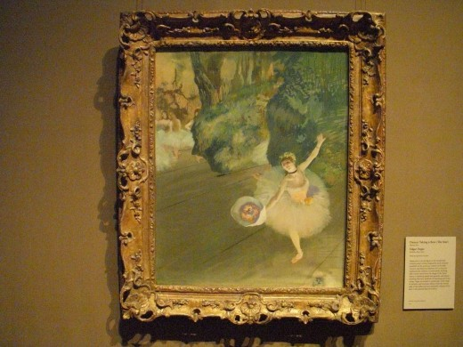 Degas, Dancer Taking A Bow