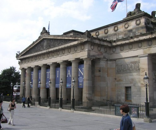 Royal Scottish Academy Building, The Mound, Edinburgh, Scotland
