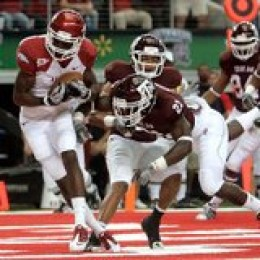 Texas A&M will play Arkansas on October 1, 2011 in Cowboys Stadium.  Last year Arkansas beat Texas A&M 24-17 in Cowboys Statdium.