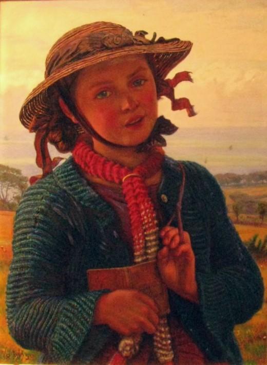 Holman Hunt Schoolgirl's Hymn