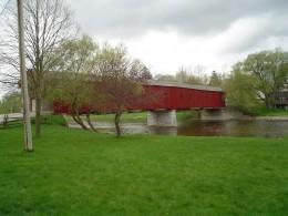 Ontario's last covered bridge, West Montrose