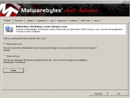 Step 7 Image. Malwarebytes software ready to scan