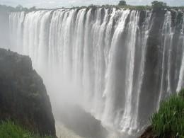 The Victoria Falls in Zambia