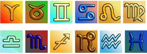 12 (Original) Signs of the Zodiac
