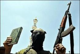 RELIGION OF PEACE. Koran and Gun.