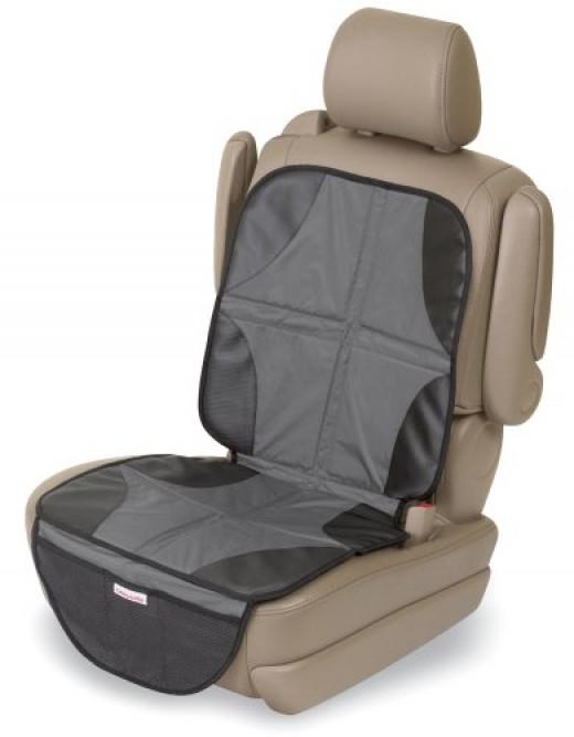 Elite DuoMat Premium 2 in 1 Car Seat Mat by Kiddopotamus