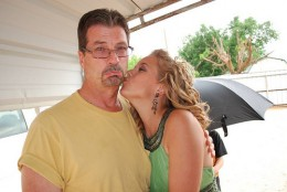 Alex Brown and Her Father Johnny