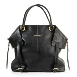 Multi purpose timi and leslie leather baby bag