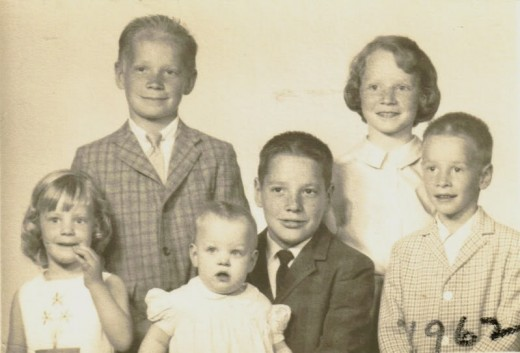 My grandparents children...all six of them...