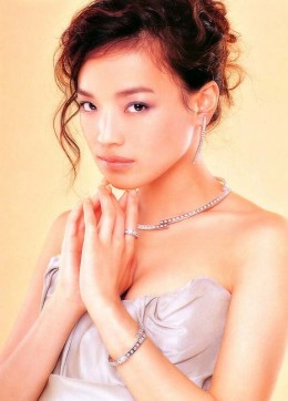 Shu Qi in an ethnic look