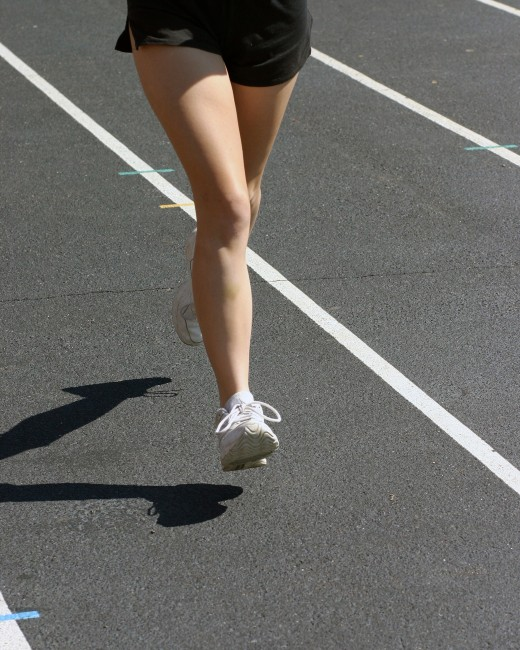 Jogging is a good form of exercise, and free.