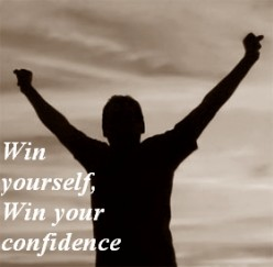 "The answer of the question ""how to build my confidence?"" is in you"
