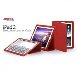 Yoobao Executive iPad 2 Folio Case - Full iPad 2 Protection with Smart Cover On-Off Feature and 3 Viewing Angles
