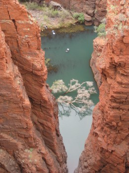 one of many gorges