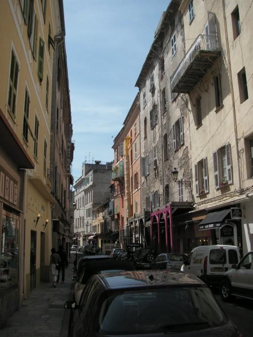 Bastia, old town