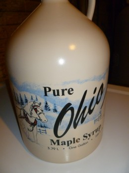 Bought by the gallon, real maple syrup isn't that much more than the fake stuff found in stores.