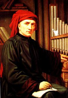Josquin Des Prez, a 15th century master composer.
