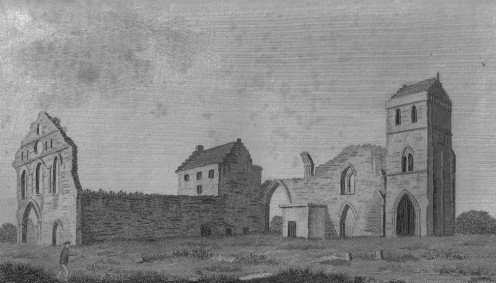 Kilwinning Abbey, North Ayrshire, Scotland in 1789