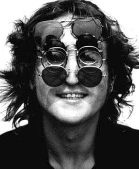 John Lennon and his glasses