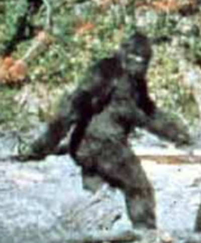 Do you have faith that Bigfoot isn't there?