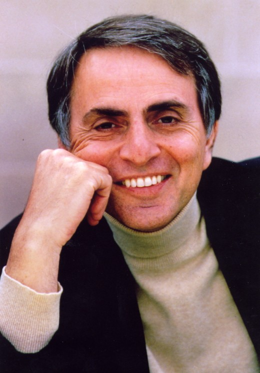 Turn your Atheist Bible's to the Book of Sagan