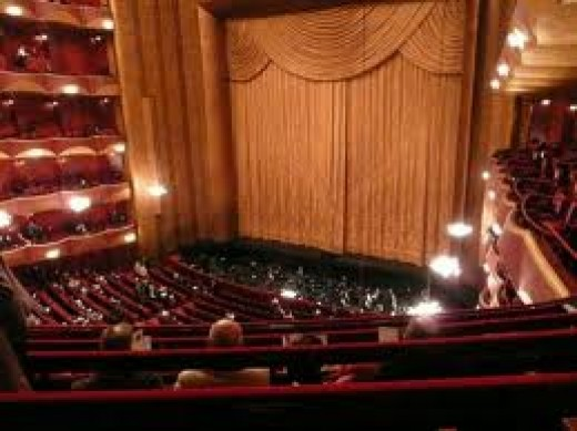 Metropolitan Opera House New York.