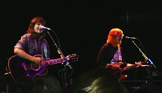 Pretty darn close to fine--the Indigo Girls in Chicago, 5/9/11.