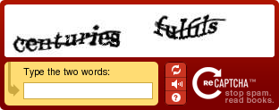 This is how a reCAPTCHA looks like.