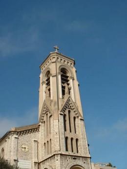 The bell-tower of St Joseph's church, Beausoleil