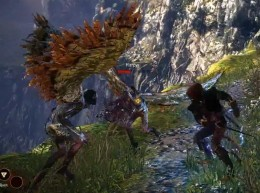 Witcher 2 Combat with Harpies